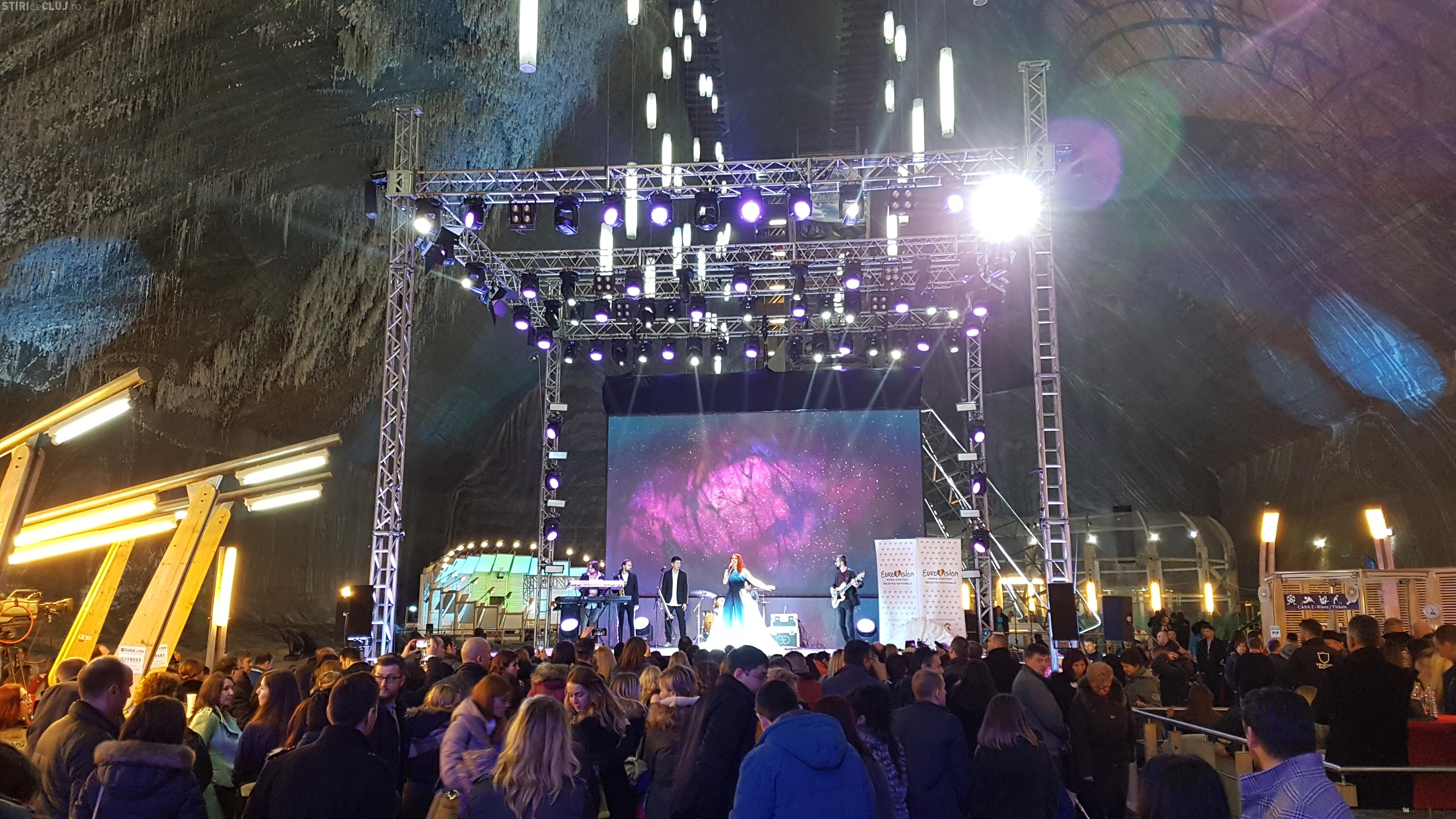 Semifinala Eurovision din Salina Turda a ajuns pe Euronews - VIDEO