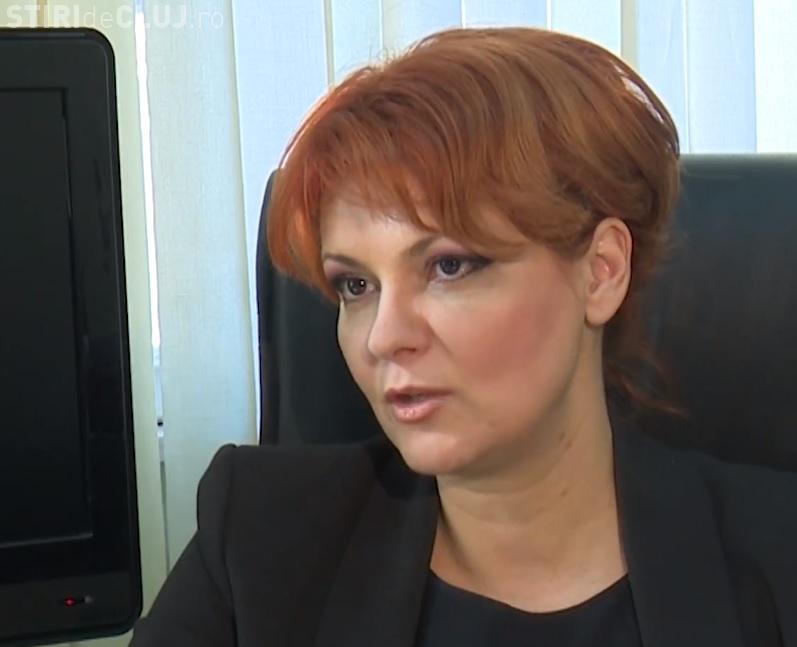 Lia Olguţa Vasilescu recunoaște că salariile mici au scăzut: Nu e vina noastră