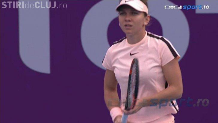 Simona Halep s-a calificat în sferturile de la Indian Wells. Cu cine va juca în continuare