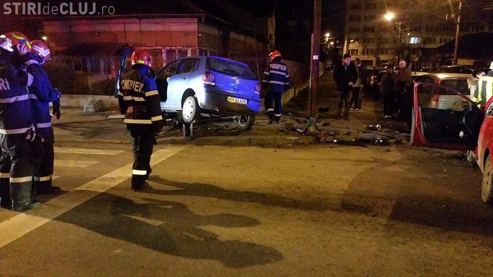 Accident grav în cartierul Grigorescu! O șoferiță a intrat în intersecție fără să se asigure FOTO