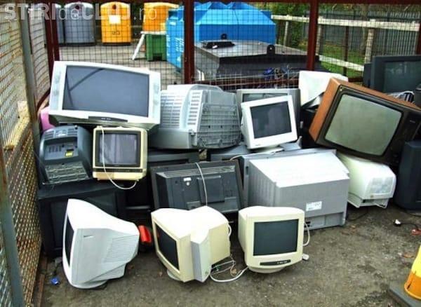 Cluj: Rosal colectează deșeuri electronice