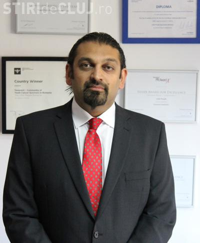 Fondatorul Little People Cluj, Shajjad Hadier Rizvi, consul onorific al Marii Britanii la Cluj
