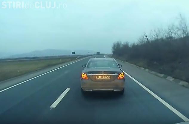 Cocalarii fac legea în trafic și la Cluj. Cum s-a răzbunat un șofer – VIDEO