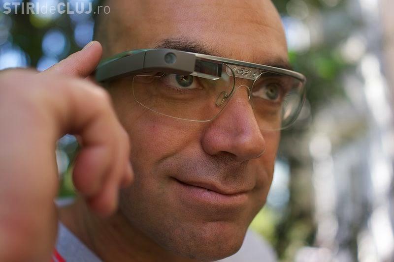 """Controlorii din Cluj-Napoca vor purta sisteme de genul """"Google glasses"""""""