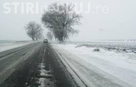 INFOTRAFIC: Se circulă în condiții de ninsoare în mai multe județe. Ce se anunță la Cluj