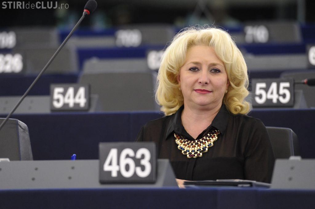 Gafă URIAȘĂ a premierului Dăncilă: Cei care dezinformează UE sunt autiști
