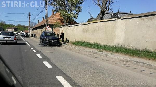 Accident cu două victime la Răscruci. Un șofer de 62 de ani a intrat pe contrasens