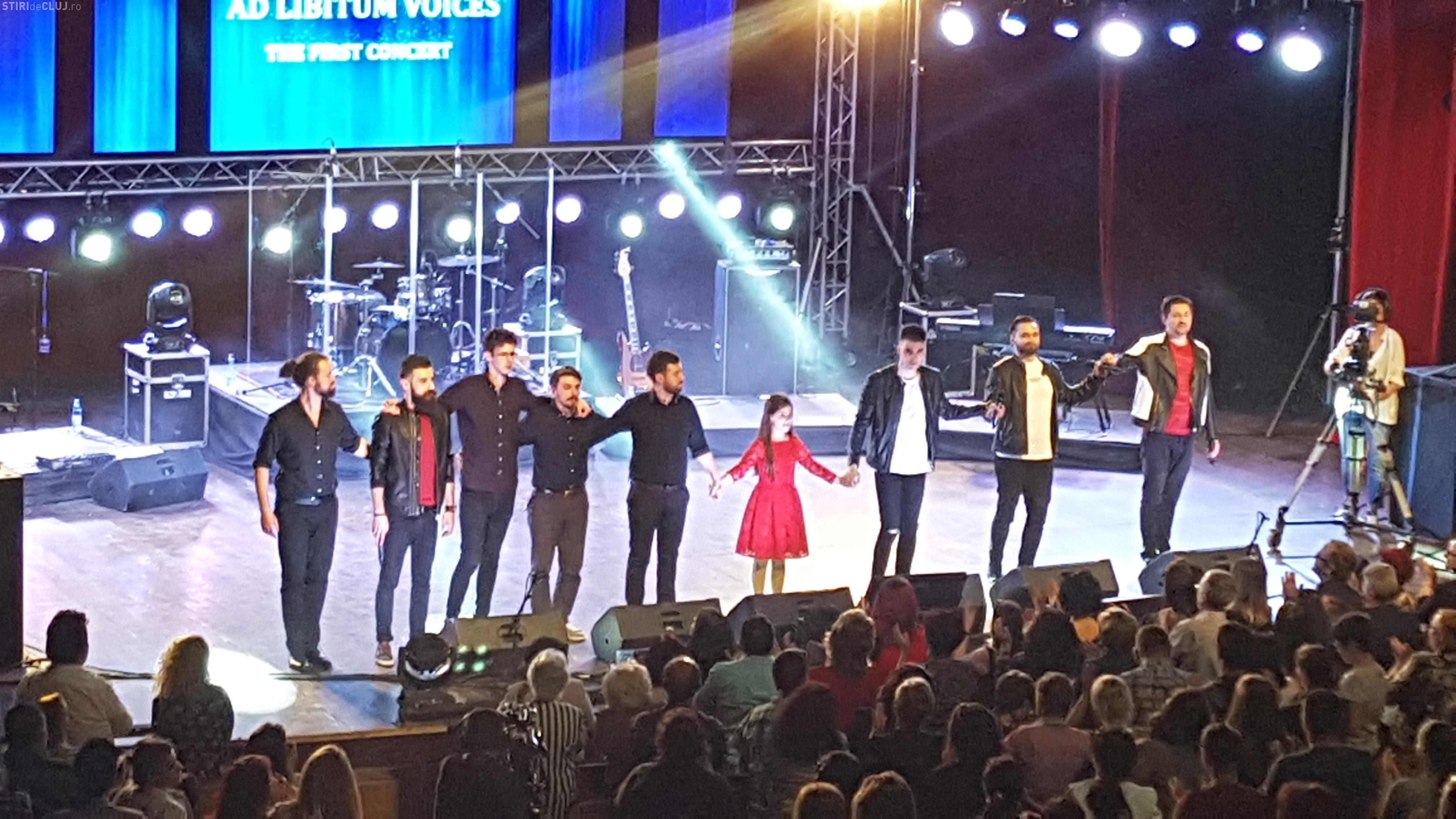 Super SHOW la concertul Ad Libitum de la Cluj. Micuța compozitoare Katia a fost invitat special  - VIDEO și FOTO