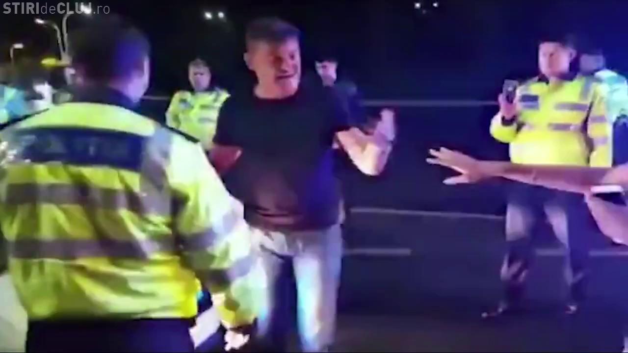 Polițistul care l-a lovit pe Boureanu a fost în legitimă apărare