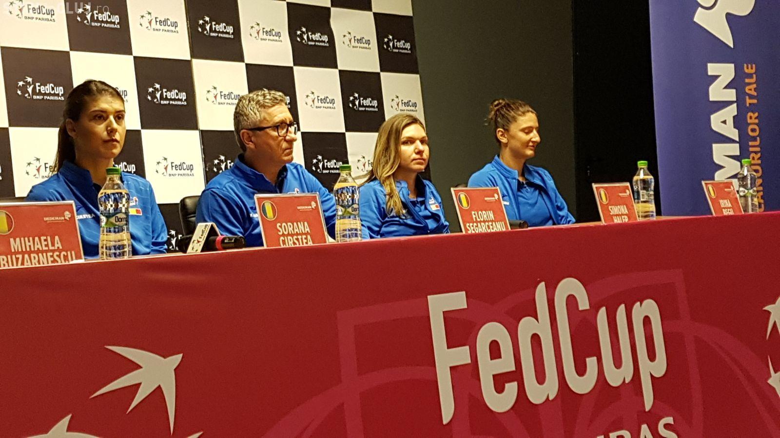 Simona Halep, înaintea meciului România - Elveția, de la Cluj: Aceasta este generația de Aur a tenisului românesc FOTO