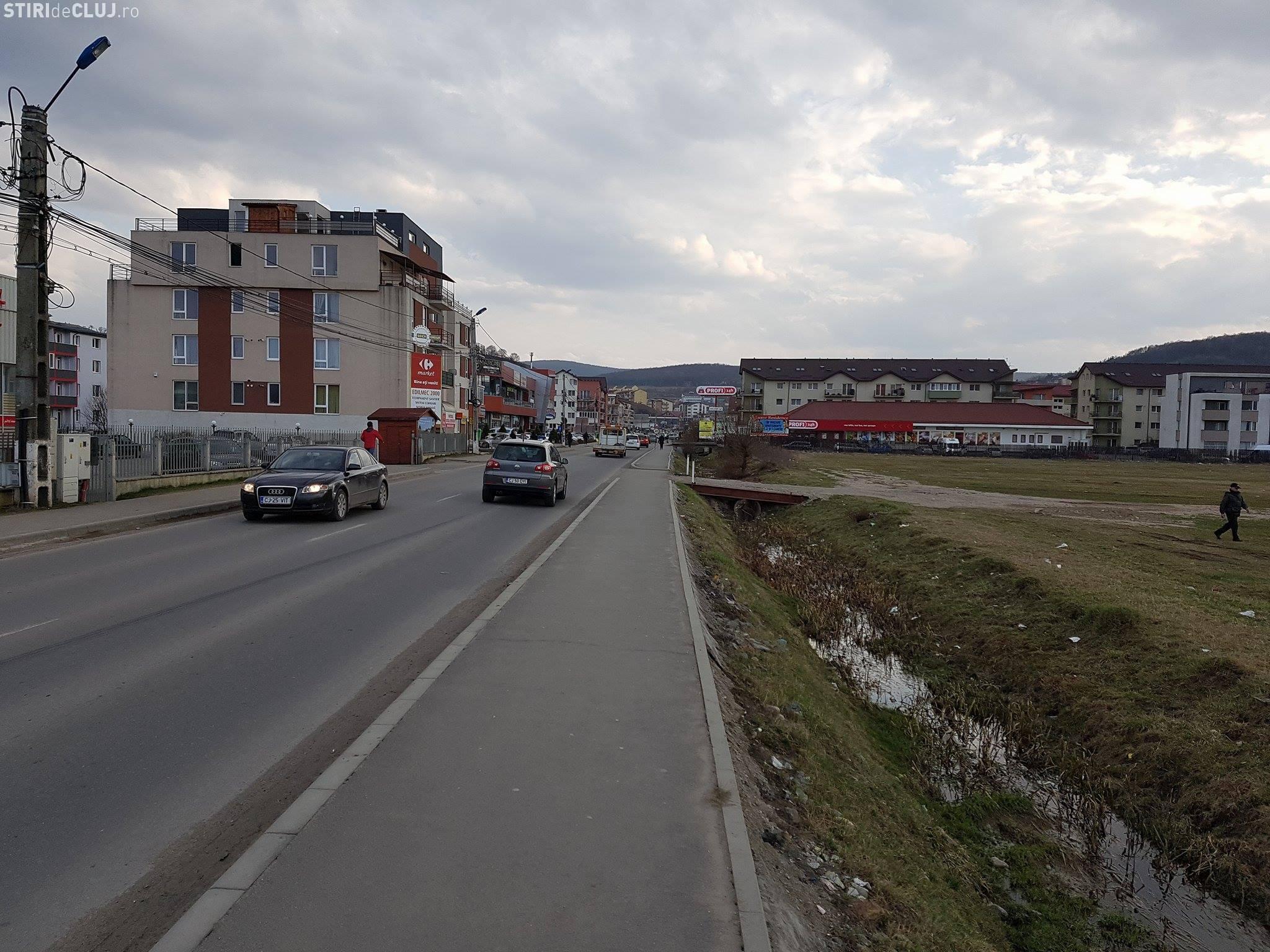 Strada Eroilor din Florești, modernizată și lărgită