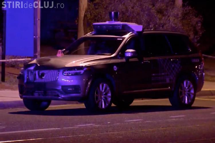Momentul în care o mașină autonomă Uber accidentează mortal o femeie - VIDEO