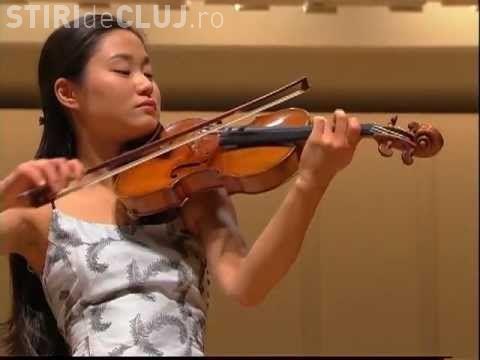 Violonista Sayaka Shoji va cânta la Cluj alături de Filarmonica de Stat Transilvania