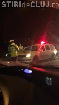 Accident ușor la Cora! Șoferul beat nu a oprit și a fost găsit într-un bar - VIDEO