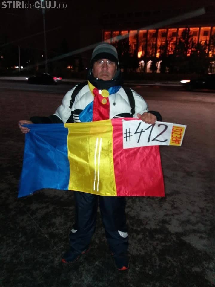 Protestatar surdo-mut, amendat cu 2.000 de lei, pentru că a scandat lozinci anti-PSD