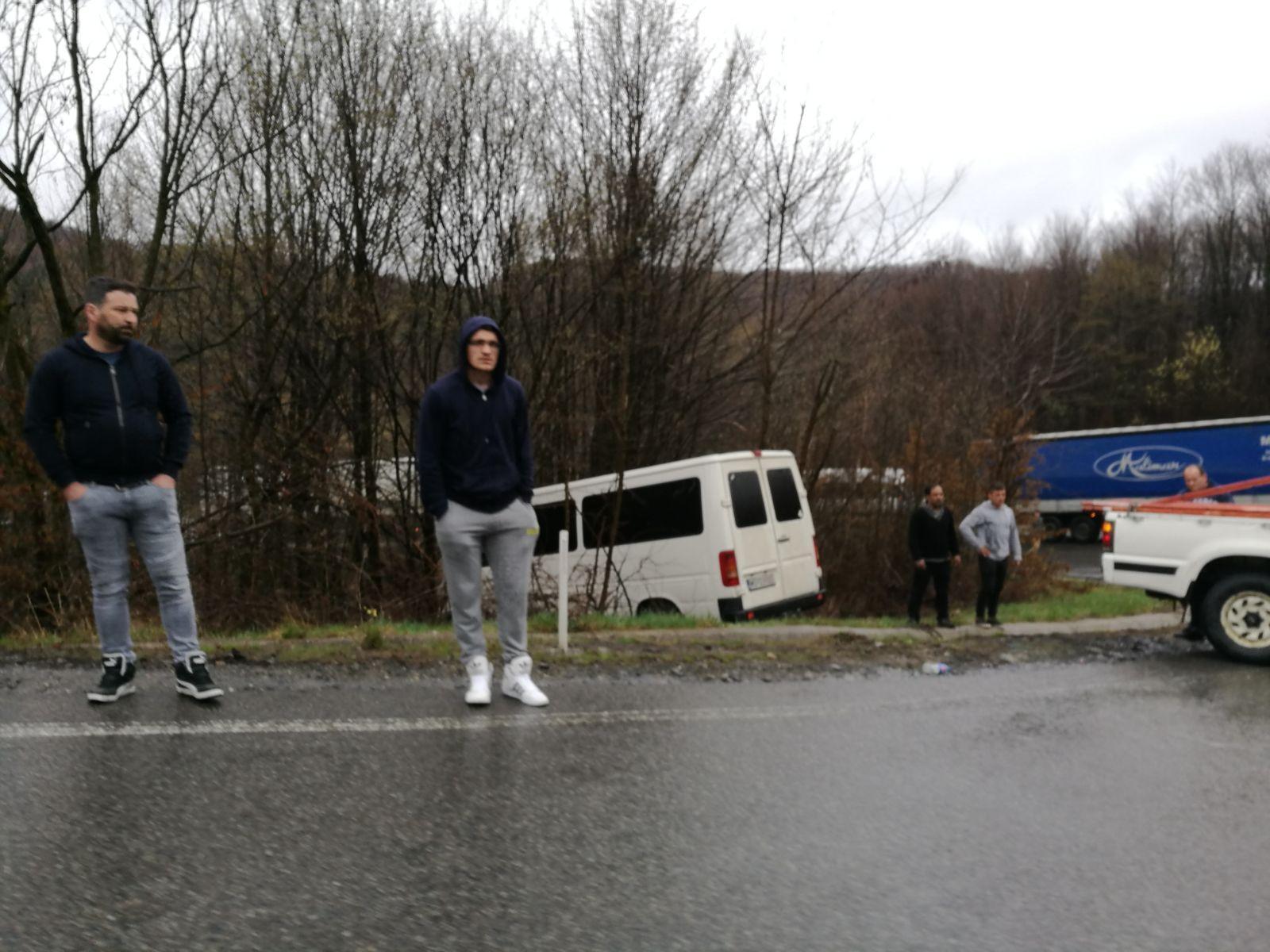 Două accidente s-au produs simultan pe Piatra Craiului, de la Cluj spre Oradea - FOTO