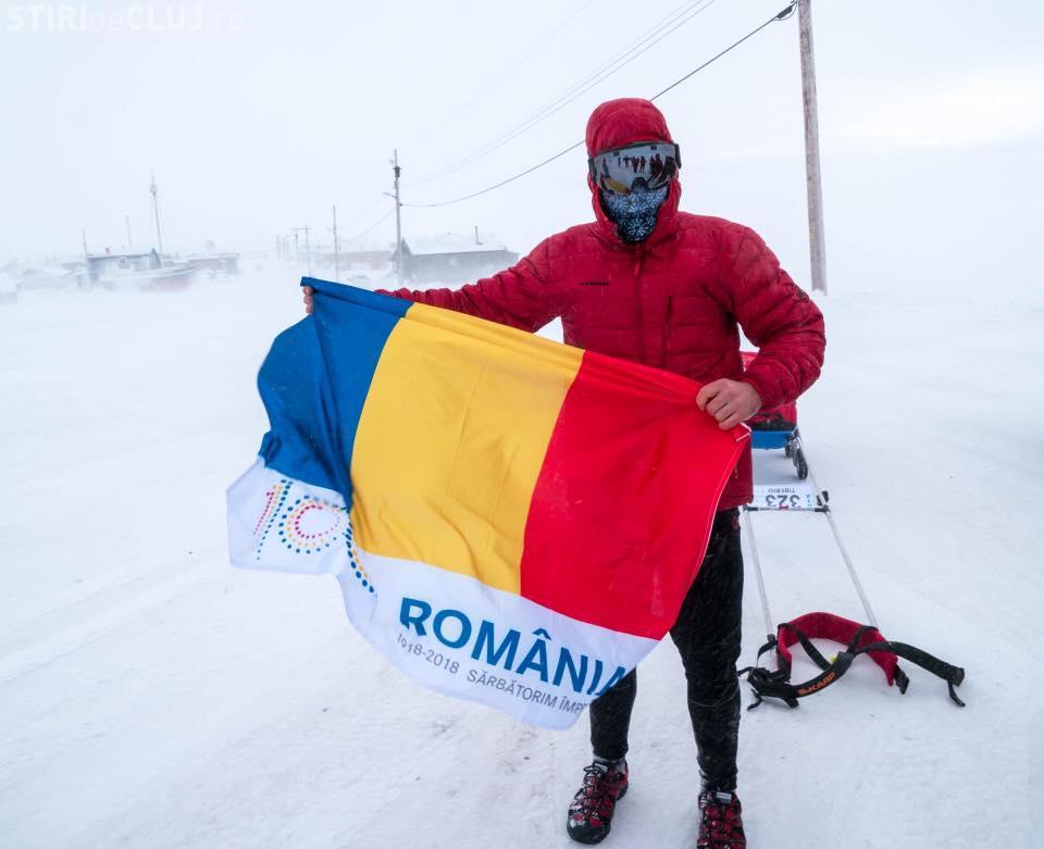 Tibi Uşeriu a câştigat Ultramaratonul Arctic. Ce surpriză i-au făcut organizatorii CAMPIONULUI - VIDEO