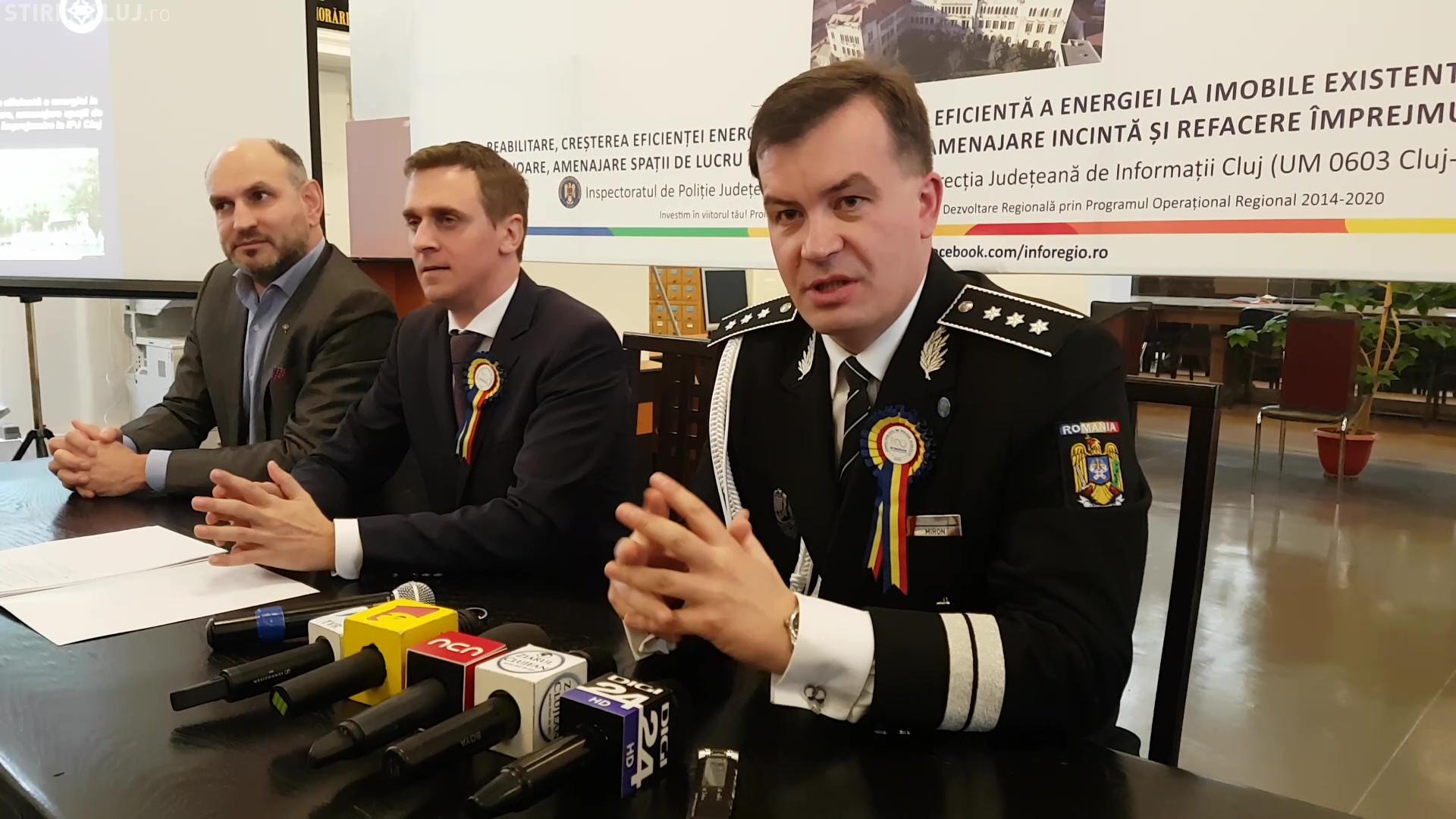Polițistul de nota cinci de la IPJ Cluj ar putea fi promovat la București, adjunct al șefului Poliției Române