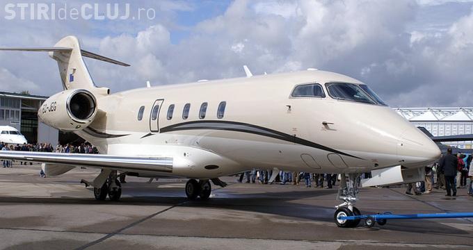 Banca Transilvania vinde avionul de lux al miliardarului Ioan Niculae