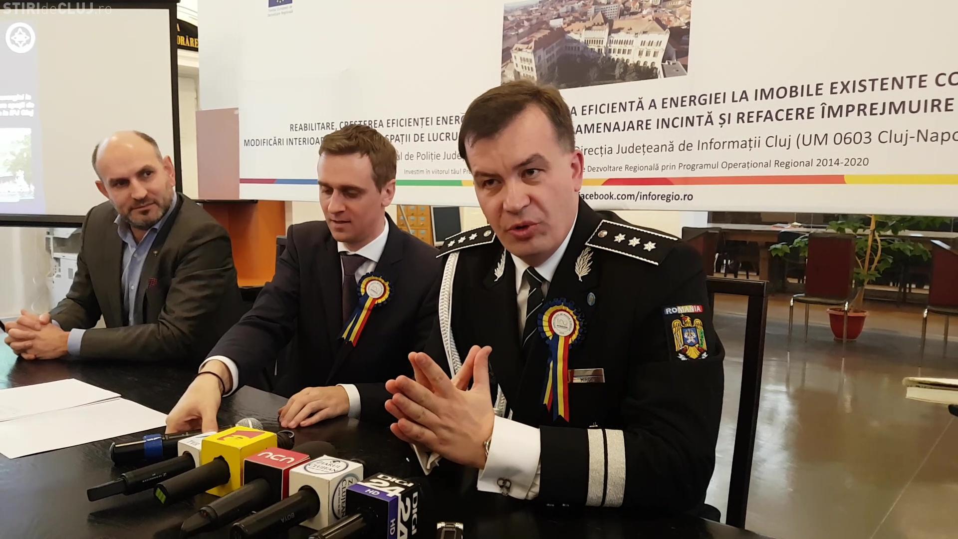 Polițistul de nota 5, de la IPJ Cluj, Ciprian Miron, numit adjunct al șefului Poliției Române