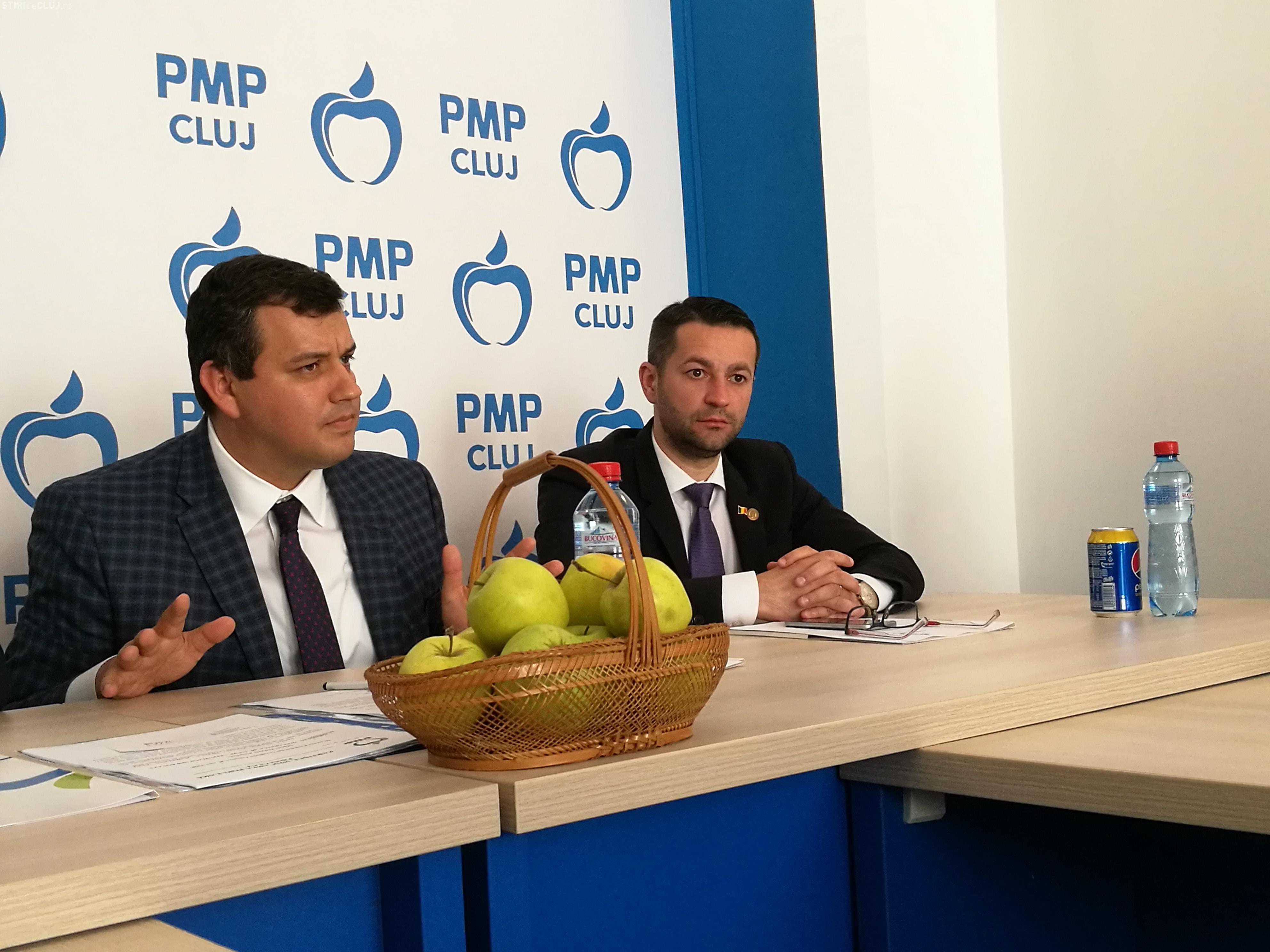 Președintele PMP, la Cluj: Primari aleși în două tururi și proiect pentru unirea cu Republica Moldova FOTO