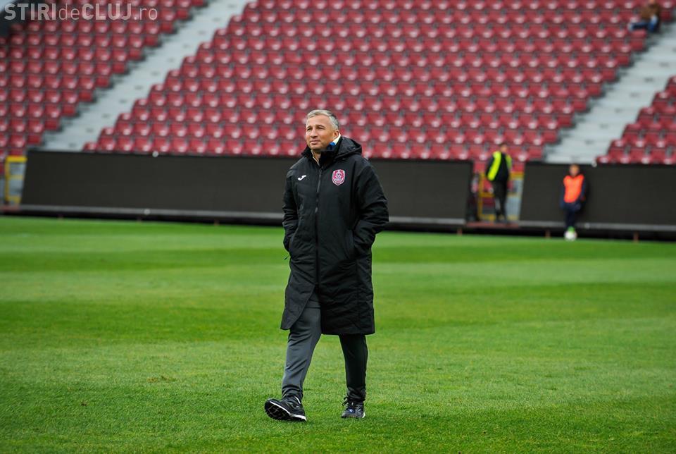 Dan Petrescu nu pleacă de la CFR Cluj
