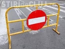CFR 2 - U Cluj. Restricții de circulație