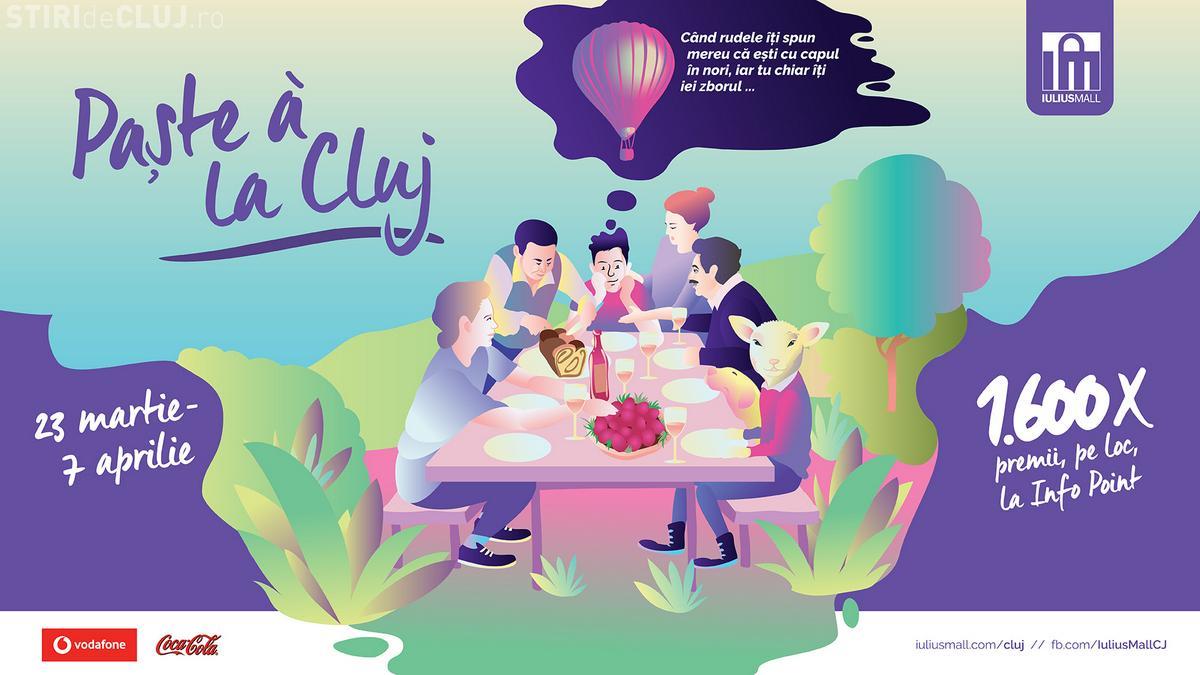 Iulius Mall îți propune să sărbătorești un Paște a la Cluj, cu peste 1.600 de premii care invită la distracție și relaxare (P)