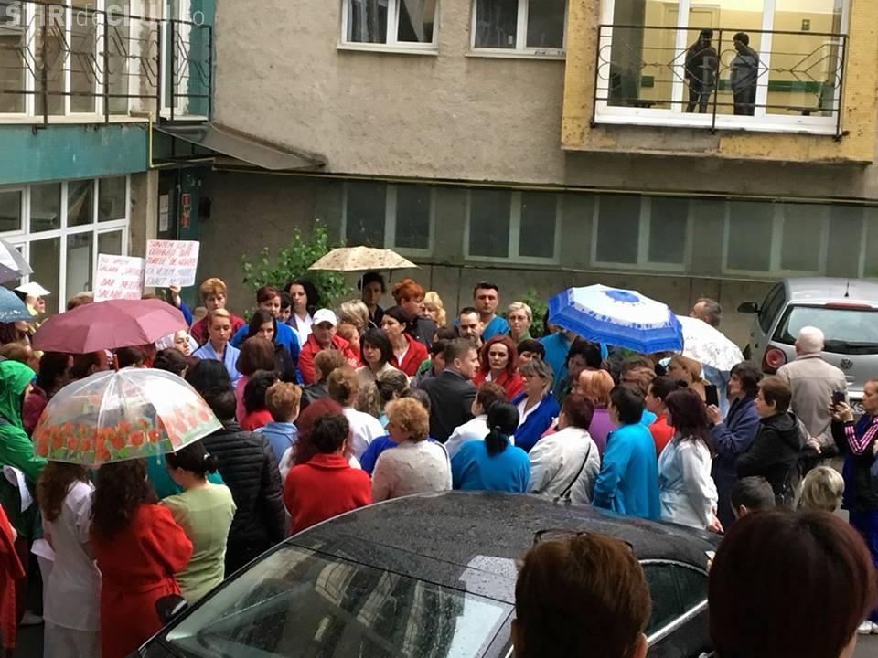 Grevă la Institutul Inimii din Cluj-Napoca. Salariile au scăzut