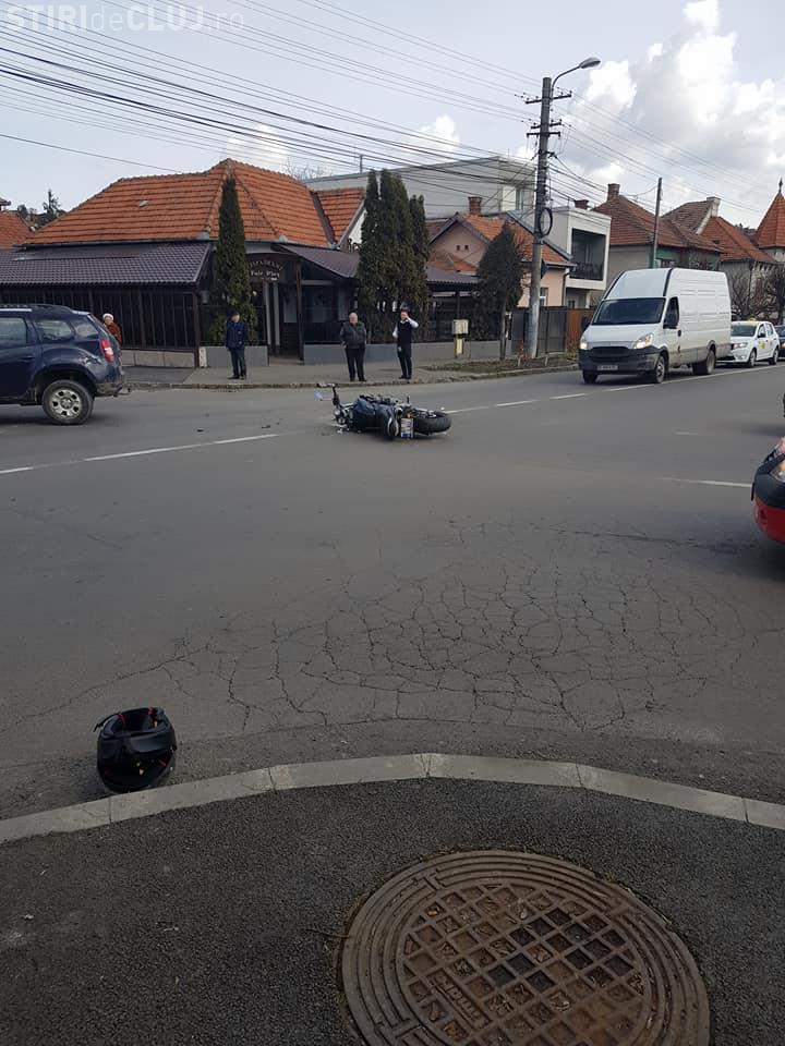 Accident în Piața 14 Iulie, din Grigorescu! - FOTO