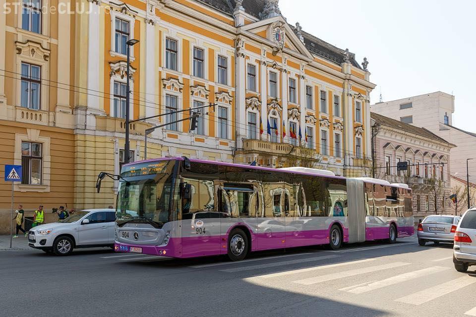 Clujul cere 100 de milioane de euro pentru autobuze electrice