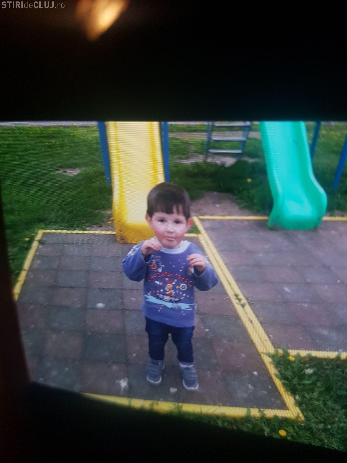 Minune la Ciurila în cazul copilului de 2 ani DISPĂRUT