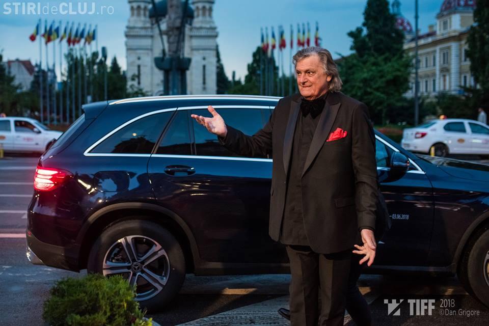 Florin Piersic s-a pozat cu fosta soție la Gala TIFF. I-a înmânat și un premiu FOTO
