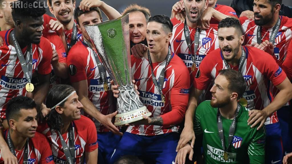 """Atletico Madrid, din nou campioana Europa League. I-au """"decimat"""" pe francezii de la Olympique de Marseille REZUMAT VIDEO"""