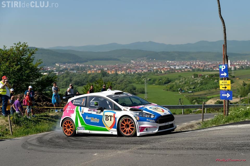 Italienii Basso și Granai, victorioși după prima zi a Transilvania Rally