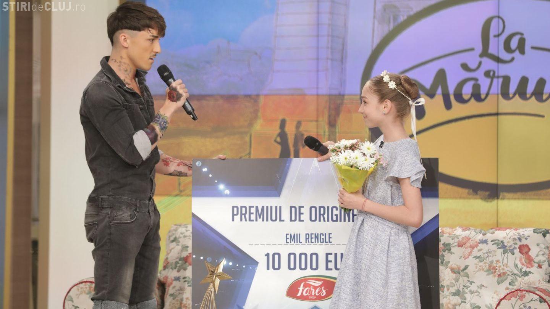 """Gest de admirat al câștigătorului """"Românii au Talent"""". A donat unul dintre premii micuței balerine de pe locul 2"""