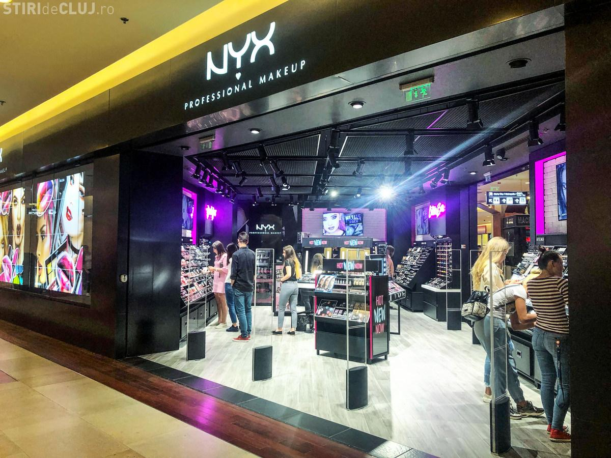 Magazin NYX PROFESSIONAL MAKEUP, inaugurat la Iulius Mall Cluj - FOTO