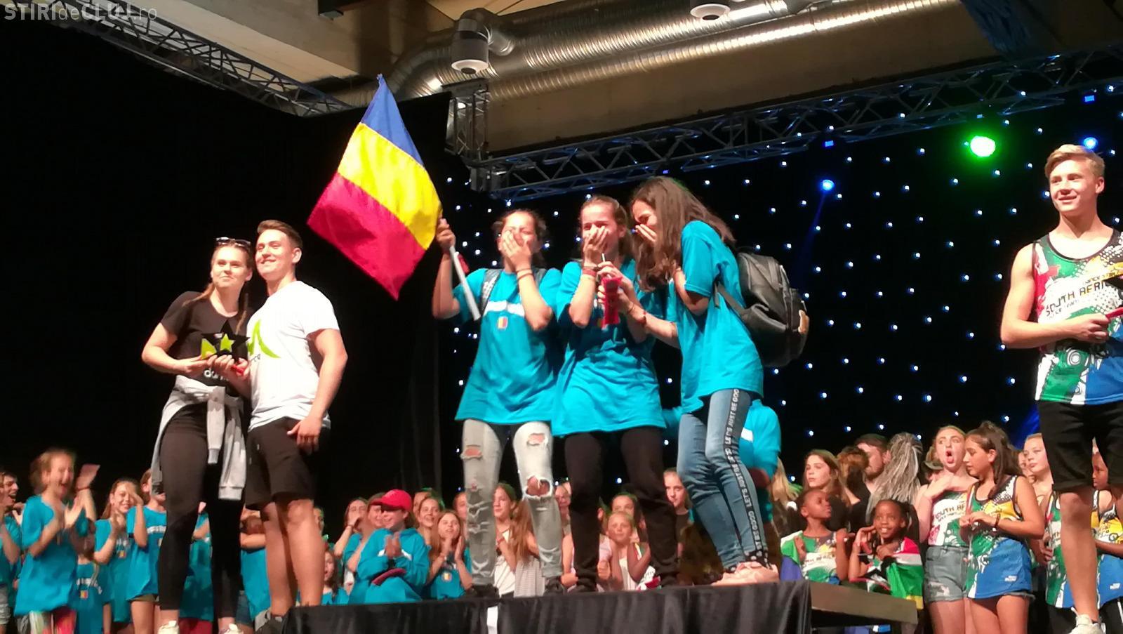 Clujenii au înălțat de 15 ori steagul României la World Dance Masters Finals, din Croația