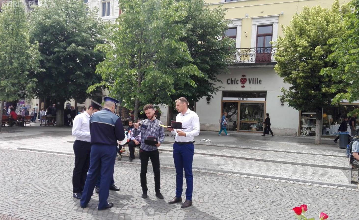 Polițiștii patrulează străzile de Zilele Clujului. Care sunt recomandările oamenilor legii pentru cetățeni