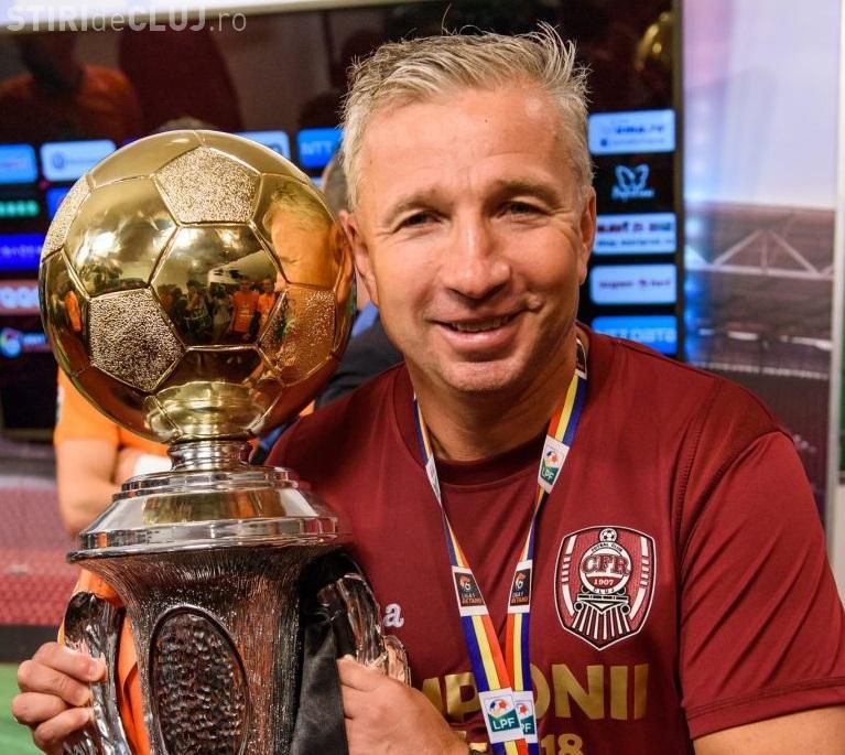CFR Cluj și-a luat adio OFICIAL de la Dan Petrescu. Cine îl va înlocui pe banca tehnică