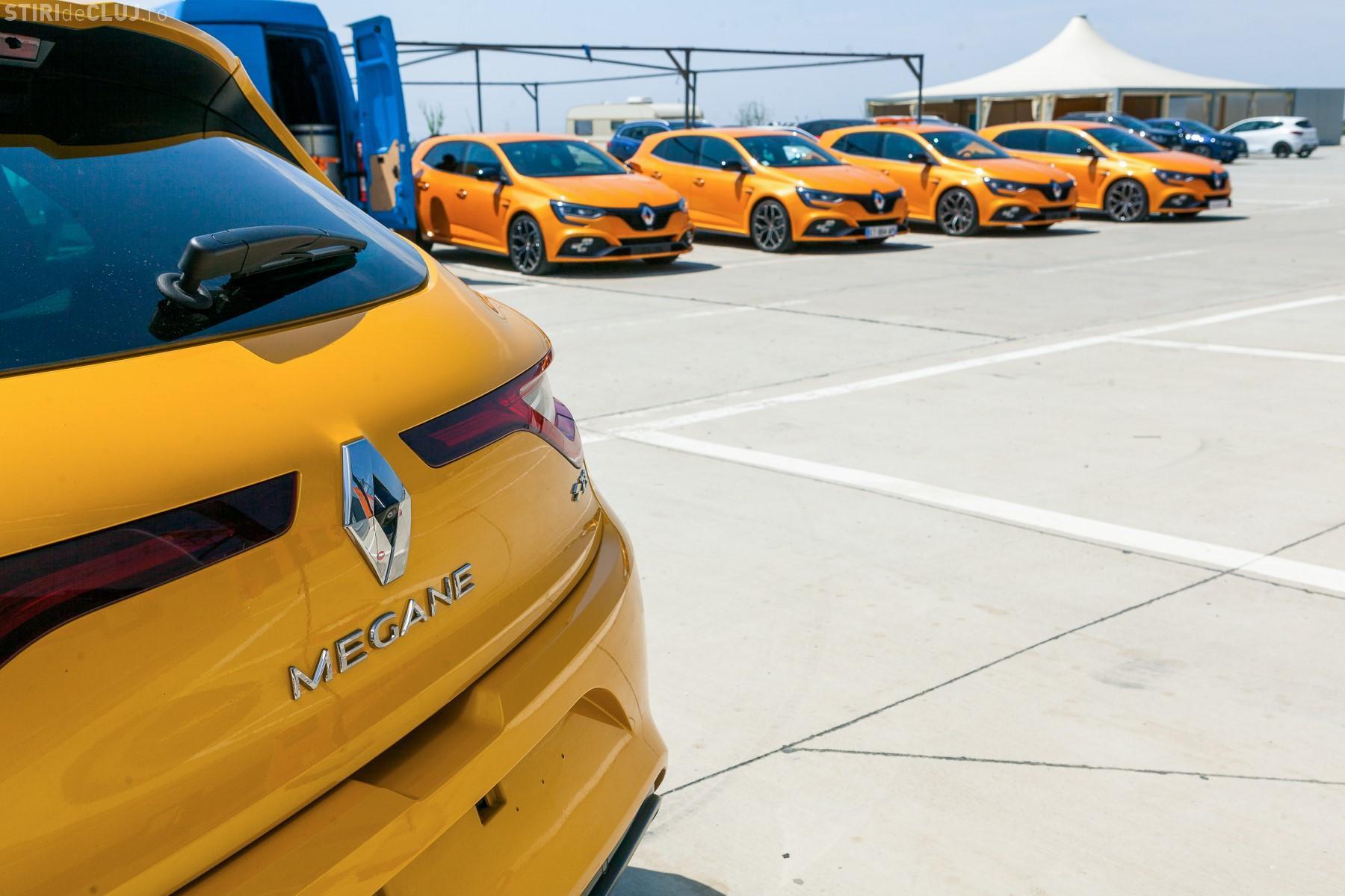 Noul Renault MEGANE R.S. vine în Cluj. Testează tehnologia și simte adrenalina! (P)
