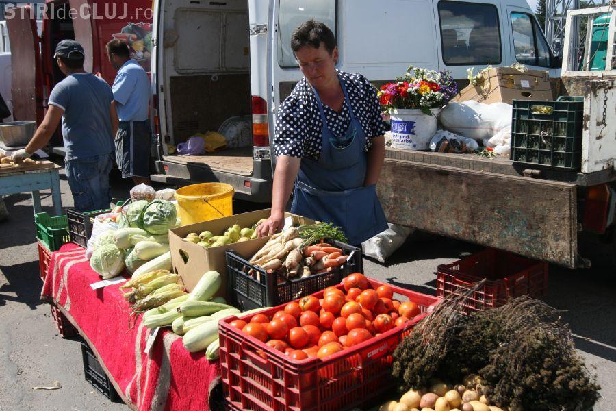Se redeschide piaţa volantă din cartierul Gheorgheni