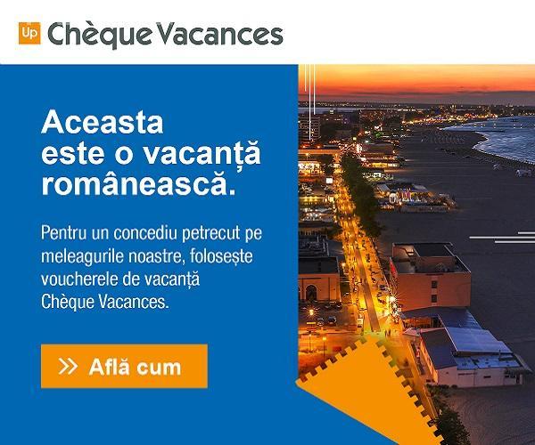 Descopera Romania cu voucherele Chèque Vacances (P)