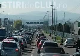 Haos în trafic dinspre Florești spre Cluj! Lucrările de asfaltare cauzează blocaje de circulație