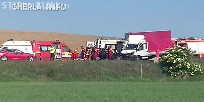 Șofer clujean, implicat într-un accident mortal în Alba! A intrat pe contrasens