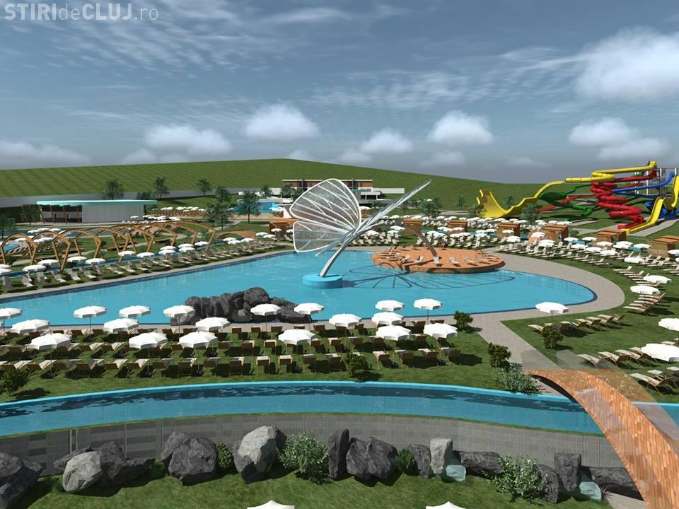 Cum va arăta Aquaparkul din Chinteni - FOTO