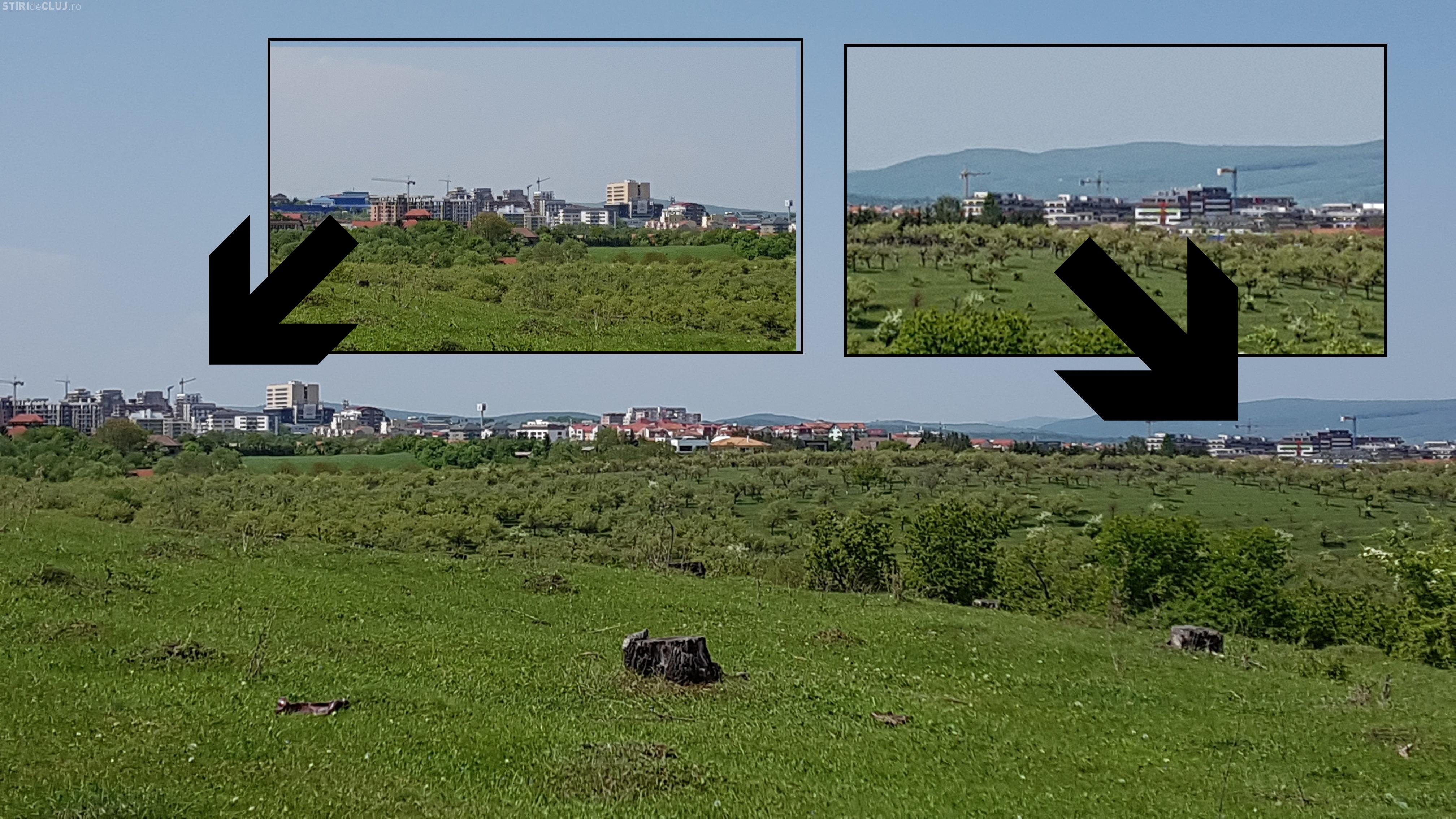 Traficul pe Calea Turzii va fi de coșmar. 6 turnuri apar în zonă - FOTO