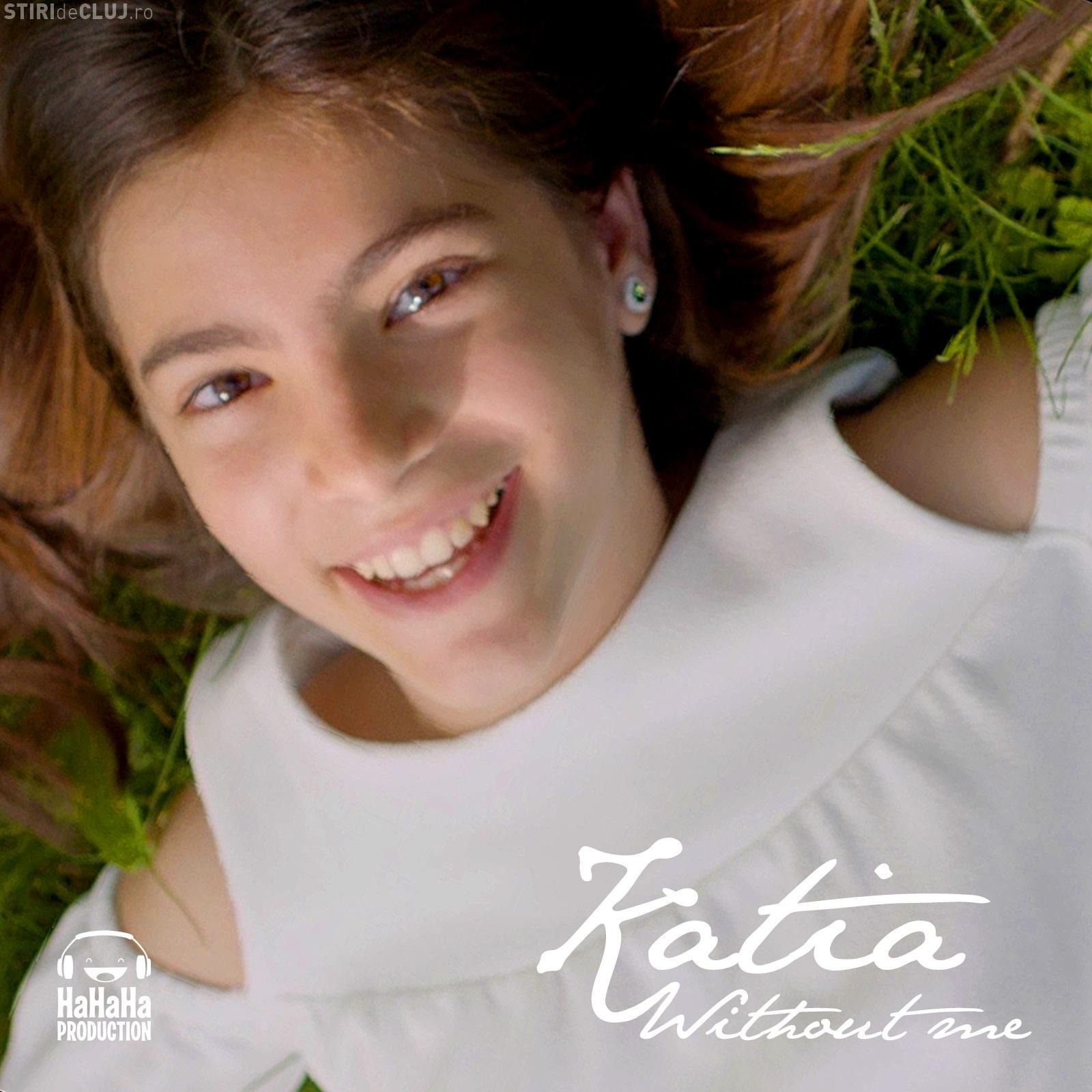 Cluj: Katia și-a lansat prima piesă. Cea mai tânără voce HaHaHa Production compune și UIMEȘTE - VIDEO