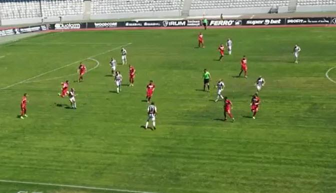 U Cluj - Gaz Metan Mediaș II, 7-0. Clujul a PROMOVAT în Liga a 2 -a