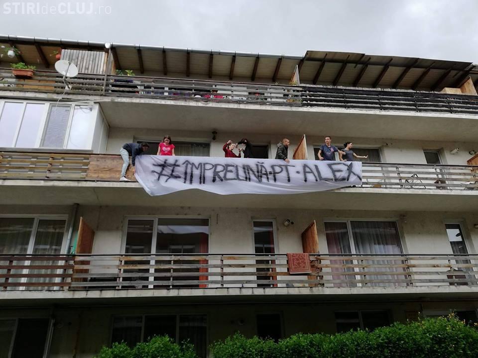 Solidaritate pentru Alex, tânărul din Florești care are nevoie de ajutor - FOTO